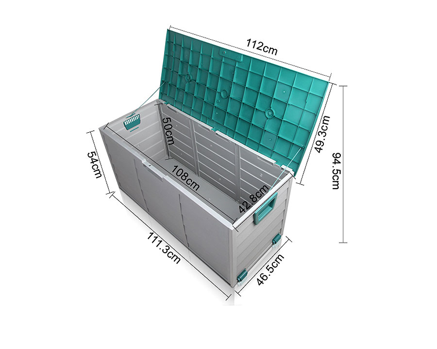 Outdoor storage box 290 litre