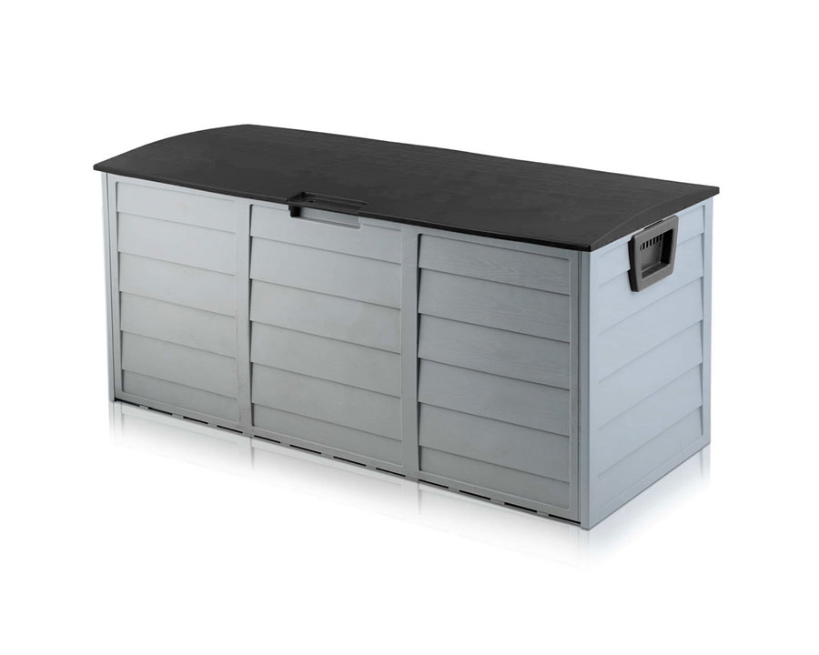 Outdoor storage box 290 litre - black accent