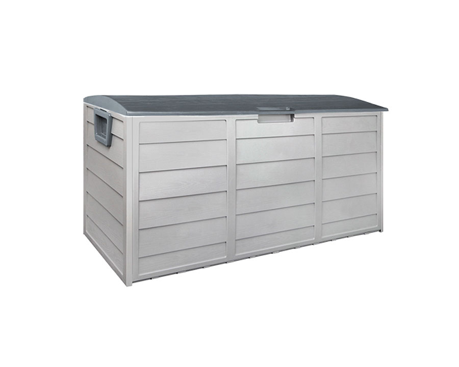 Outdoor storage box 290 litre - grey accent