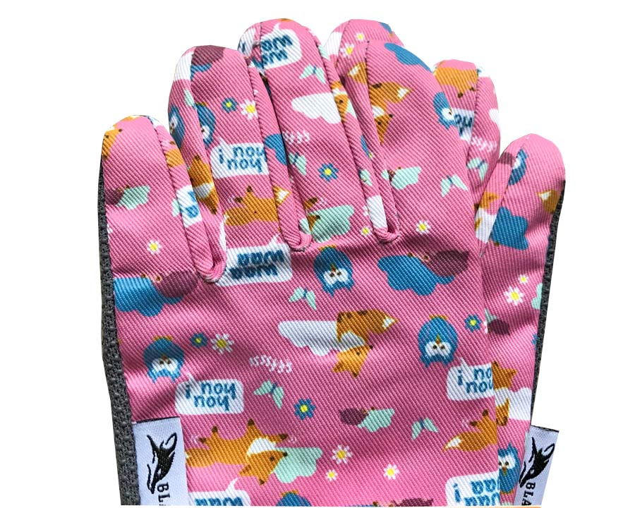 Beautifully finished children's gloves by Blackfox