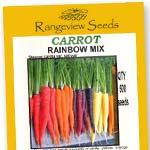 Carrot Rainbow Mix - Rangeview Seeds