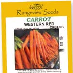 Carrot Western Red - Rangeview Seeds