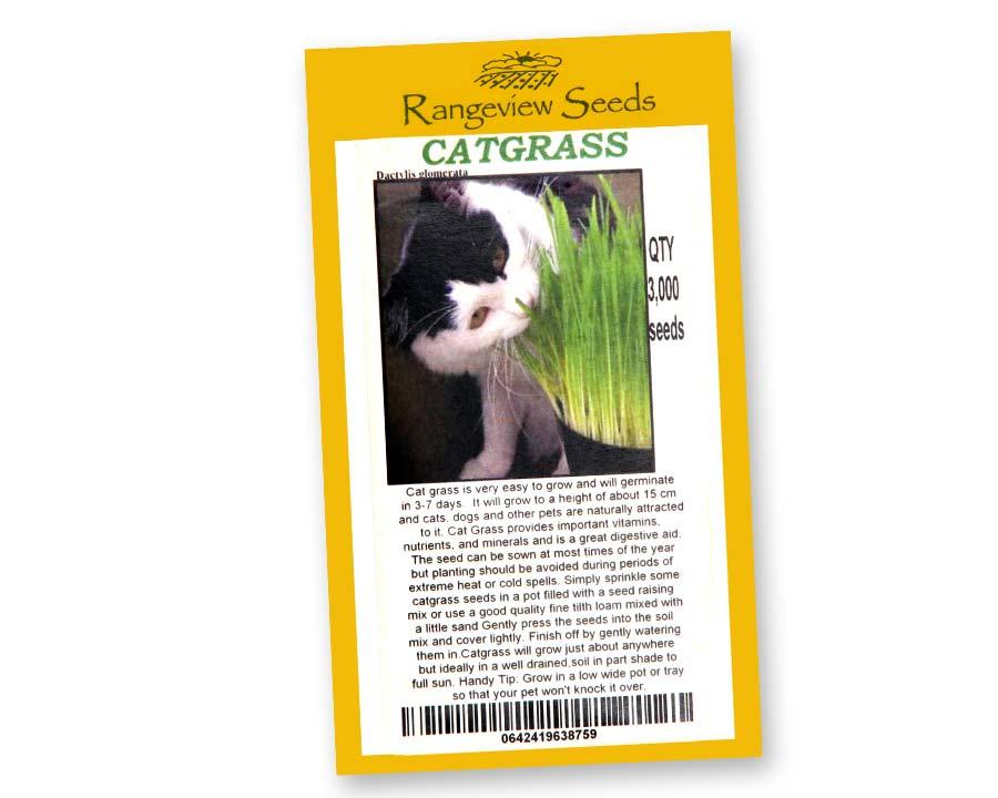Catgrass (Dactylis glomerata) - Rangeview Seeds of Tasmania