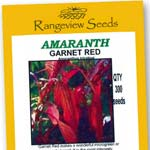 Amaranth Garnet Red- Rangeview Seeds