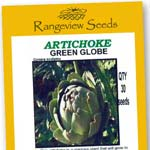 Artichoke Green Globe - Rangeview Seeds