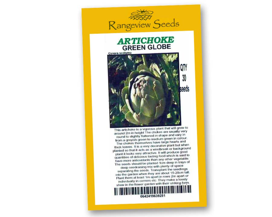 Artichoke Green Globe - Rangeview Seeds