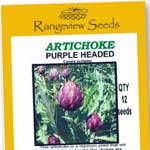 Artichoke Purple Headed - Rangeview Seeds