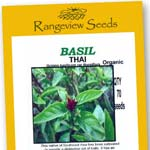 Basil Thai Organic - Rangeview Seeds