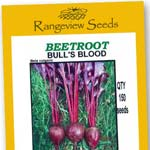 Beetroot Bulls Blood Organic - Rangeview Seeds