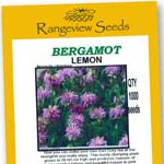 Bergamot Lemon - Rangeview Seeds