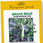 Broad Beans Aquadulce - Rangeview Seeds