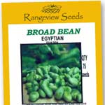 Broad Beans Egyptian - Rangeview Seeds