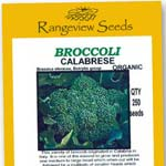 Broccoli Calabrese - Rangeview Seeds
