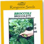Broccoli Broccoletti - Range view Seeds