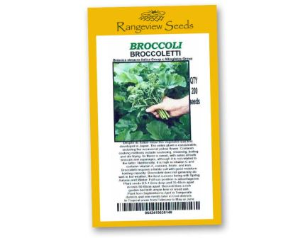 Broccoli Brocoletti - Rangeview Seeds