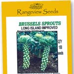 Brussels Sprouts Long Island Improved Organic - Rangeview Seeds