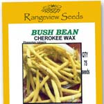 Bush Beans Cherokee Wax - Rangeview Seeds