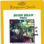 Bush Beans Pinto - Rangeview Seeds