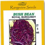 Bush Beans Royal Burgundy - Rangeview Seeds