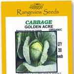 Cabbage Golden Acre - Rangeview Seeds