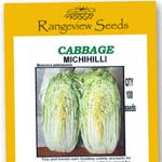 Cabbage Michihilli - Rangeview Seeds