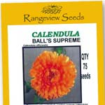 Calendula Ball's Supreme - Rangeview Seeds