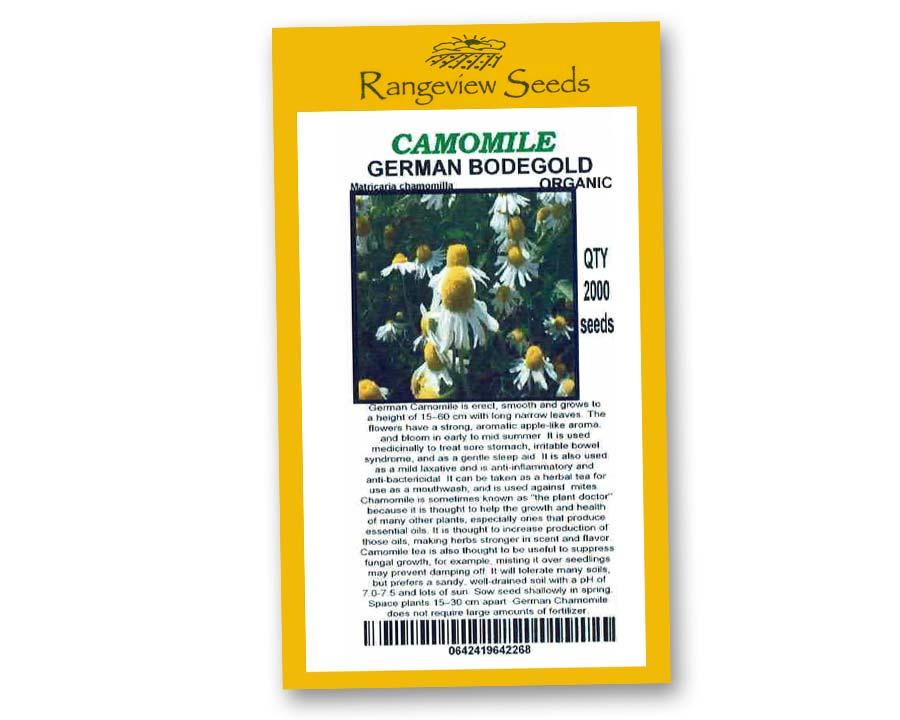 Chamomile German Bodegold Organic - Rangeview Seeds
