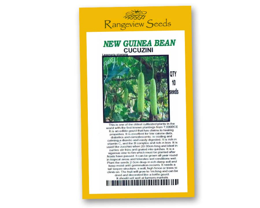 New Guinea Bean Cucuzini - Rangeview Seeds