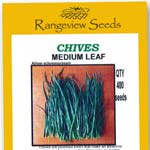 Chives Medium Leaf - Rangeview Seeds