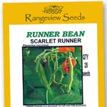 Bean Runner Scarlet Runner - Rangeview Seeds