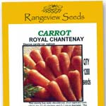 Carrot Royal Chantenay - Rangeview Seeds