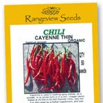Chili Cayenne Thick - Rangeview Seeds