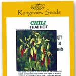 Chili Thai Hot - Rangeview Seeds
