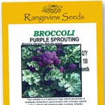 Broccoli Purple Sprouting - Rangeview Seeds