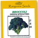 Broccoli Green Sprouting Organic - Rangeview Seeds