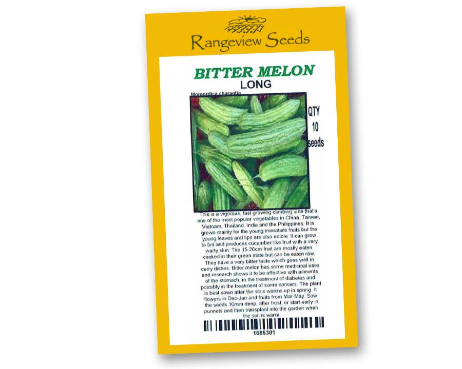 Bitter Melon Long - Rangeview Seeds