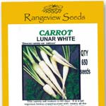Carrot Lunar White - Rangeview Seeds