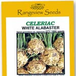 Celeriac White Alabaster - Rangeview Seeds