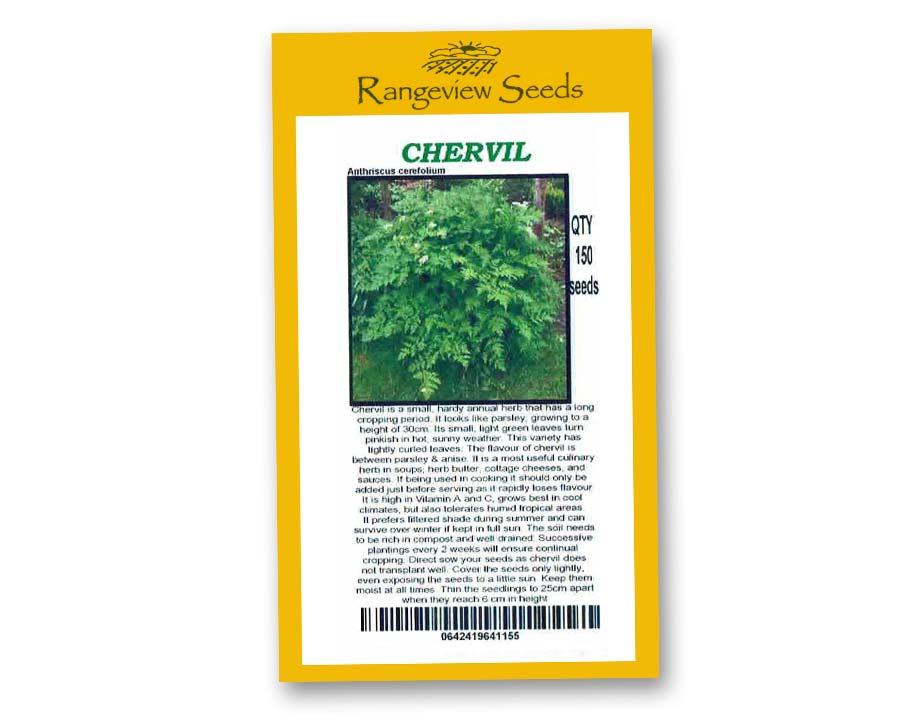 Chervil - Rangeview Seeds