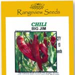 Chili Big Jim - Rangeview Seeds