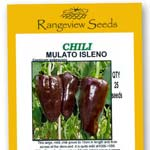 Chili Mulato Isleno - Rangeview Seeds