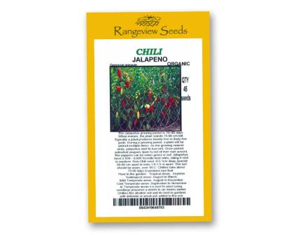 Chili Jalpeno - Rangeview Seeds
