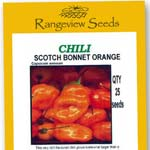 Chili Scotch Bonnet Orange - Rangeview Seeds