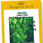 Basil Fine Leaf - Rangeview Seeds