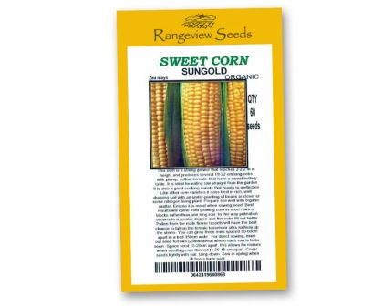 Sweetcorn Sungold - Rangeview Seeds