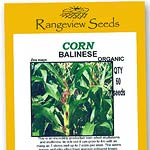 Sweetcorn Balinese Organic - Rangeview Seeds