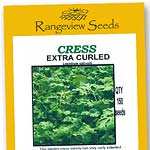Cress Extra Curled - Rangeview Seeds