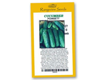 Cucumber Poinsett - Rangeview Seeds