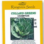 Collard Greens Champion - Rangeview Seeds