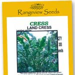 Cress Landcress - Rangeview Seeds